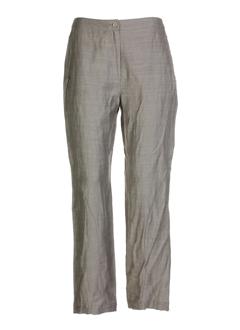 cannisse pantalons femme de couleur taupe