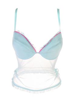 jolidon lingerie femme de couleur turquoise