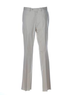 bernard zins pantalons femme de couleur beige