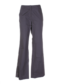 ernest pantalons femme de couleur anthracite