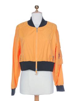Blouson orange AIRFIELD pour femme