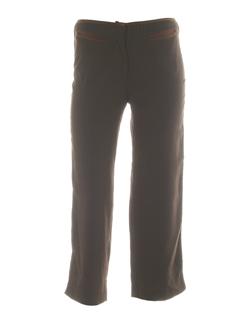 solola pantacourts femme de couleur marron