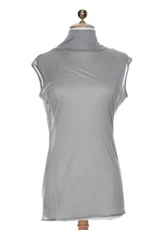 gene chemises femme de couleur gris