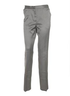 gene pantalons femme de couleur marron glace