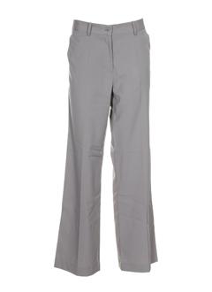 gene pantalons femme de couleur beige