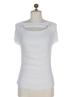 rodika pulls femme de couleur blanc casse