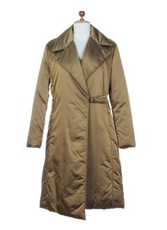 qubha manteaux femme de couleur bronze