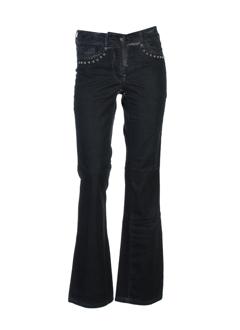 airfield jeans femme de couleur anthracite