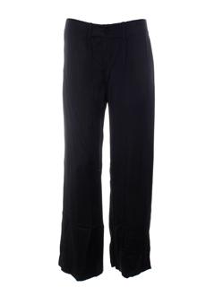 leïko pantalons femme de couleur noir