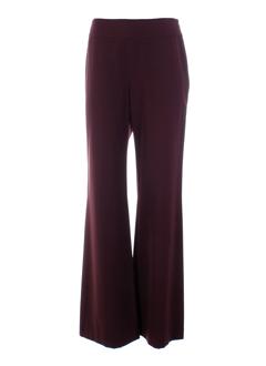 bleu blanc rouge pantalons femme de couleur bordeaux