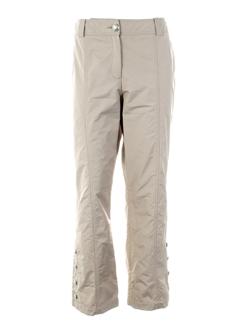 airfield pantacourts femme de couleur beige