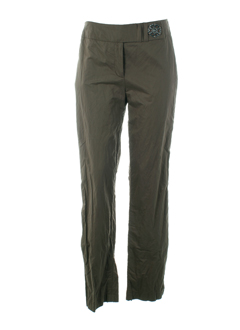 airfield pantalons femme de couleur taupe