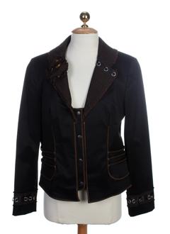 my way vestes femme de couleur noir