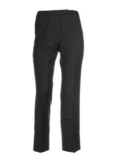 benetton pantalons femme de couleur kaki