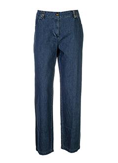solola jeans femme de couleur bleu