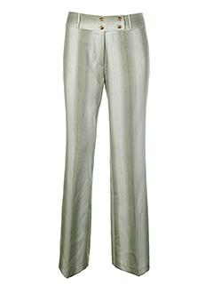 c ta toi pantalons femme de couleur vert