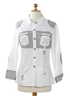 carole richard vestes femme de couleur blanc