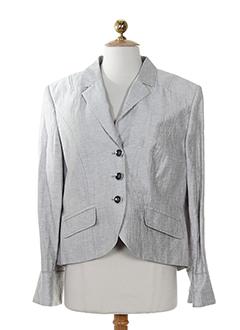 initiative vestes femme de couleur gris perle