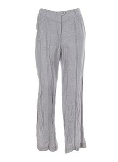 animale pantalons femme de couleur gris perle