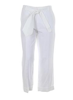 rodika pantacourts femme de couleur blanc