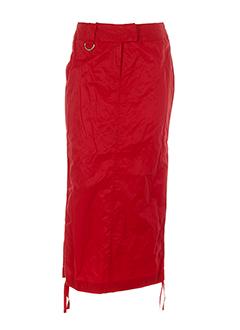 Jupe longue rouge AIRFIELD pour femme
