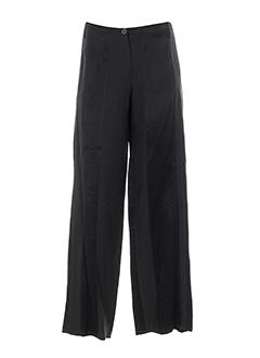 Pantalon chic anthracite LEÏKO pour femme