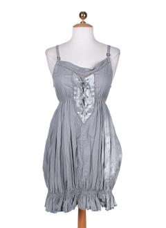 a et dress et concept tuniques femme de couleur bleu (photo)