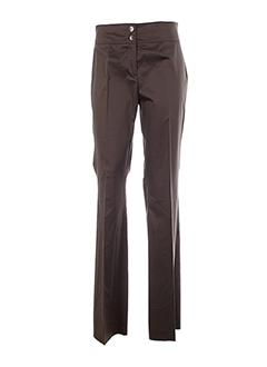 diana et gallesi pantalons et citadins femme de couleur marron