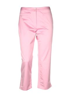 devernois pantacourts femme de couleur rose