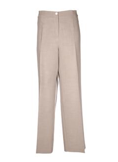 devernois pantalons femme de couleur gris perle