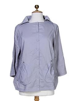 Veste casual gris BE THE QUEEN pour femme