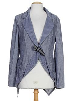 2026 vestes femme de couleur bleu (photo)