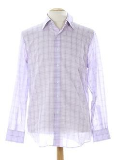 clifter chemises homme de couleur violet clair