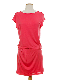 escada robes et mi et longues femme de couleur rose