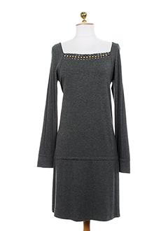 by soto robes femme de couleur gris fonce