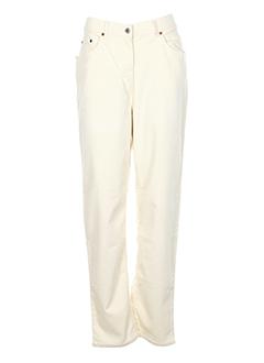 blue willi's pantalons femme de couleur beige clair