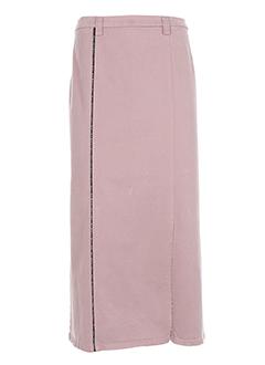 rosa rosam jupes femme de couleur rose clair