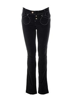 mcp pantalons femme de couleur noir