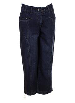 sandwich jeans femme de couleur bleu