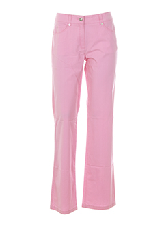 apanage pantalons femme de couleur rose