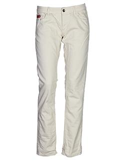 unlimited pantalons femme de couleur beige