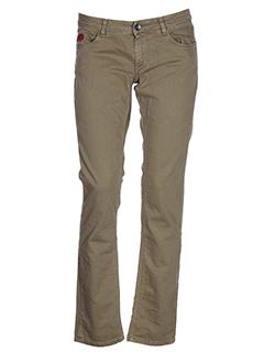 unlimited pantalons femme de couleur marron
