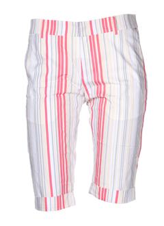 charlie joe shorts / bermudas femme de couleur blanc