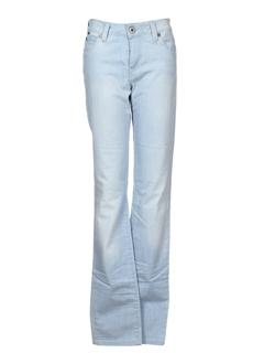 denim studio jeans femme de couleur bleu
