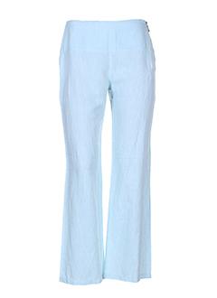 chrismas's pantalons femme de couleur bleu