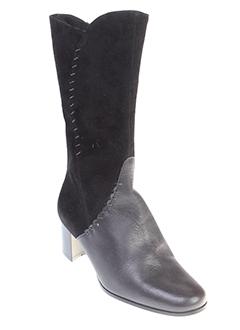 ombelle bottines femme de couleur noir