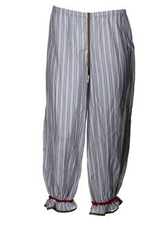 cinq et six et mouches pantalons et decontractes femme de couleur gris