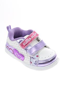 super et gear baskets fille de couleur violet