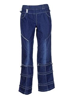 caty et lesca pantalons et decontractes femme de couleur bleu