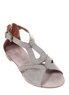 morena et gabbrielli sandales et nu et pieds femme de couleur gris